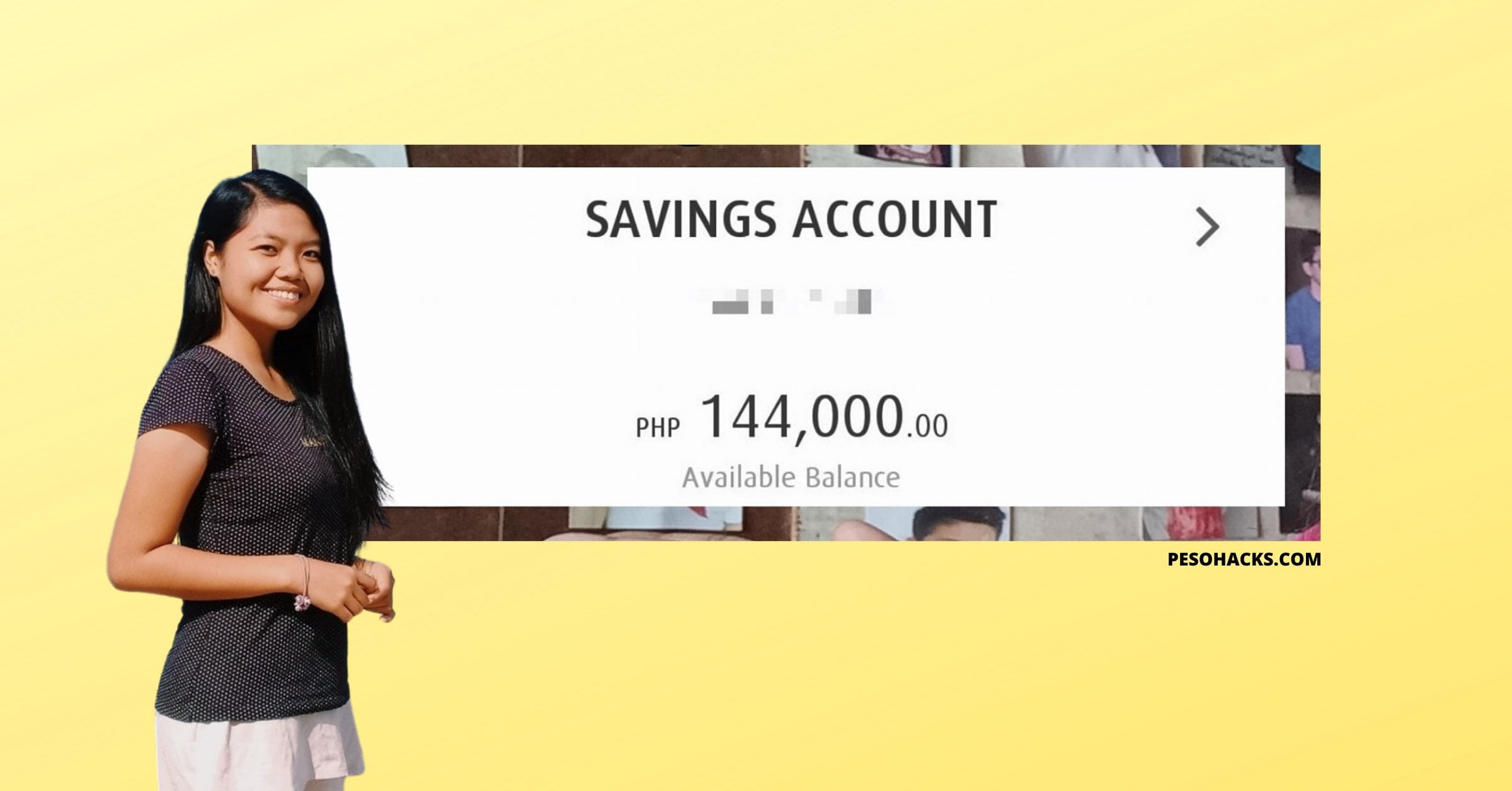 How a 20-Year Old Pinay Saved P100k+ While Studying!